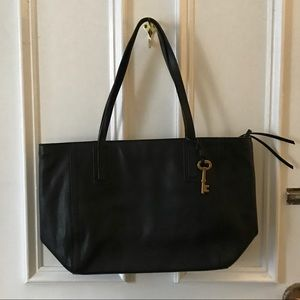 FOSSIL Zip Top Shoulder Tote